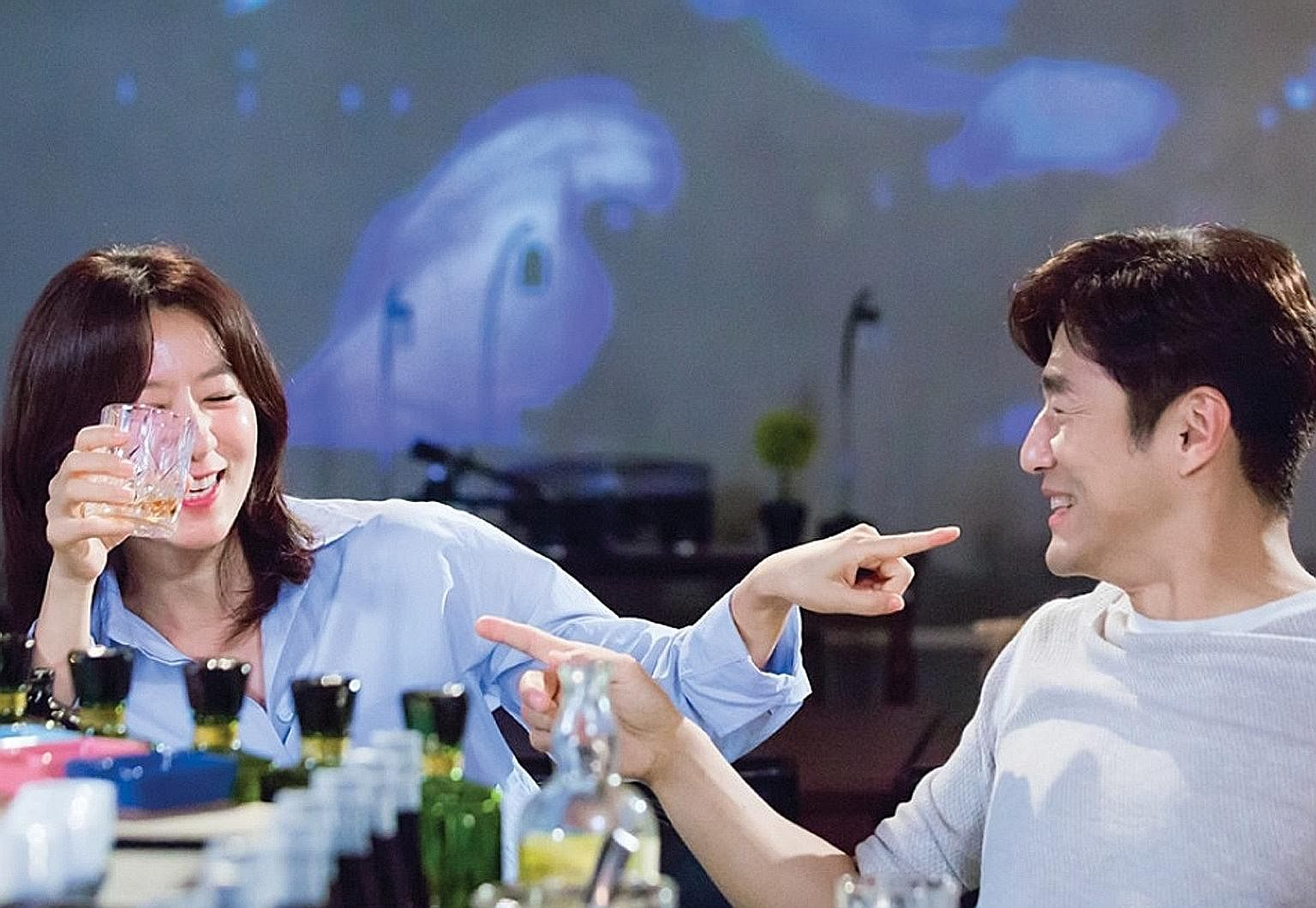 Kim Hee Ae and Ji Jin Hee are a middle-aged would-be couple in Second To Last Love.