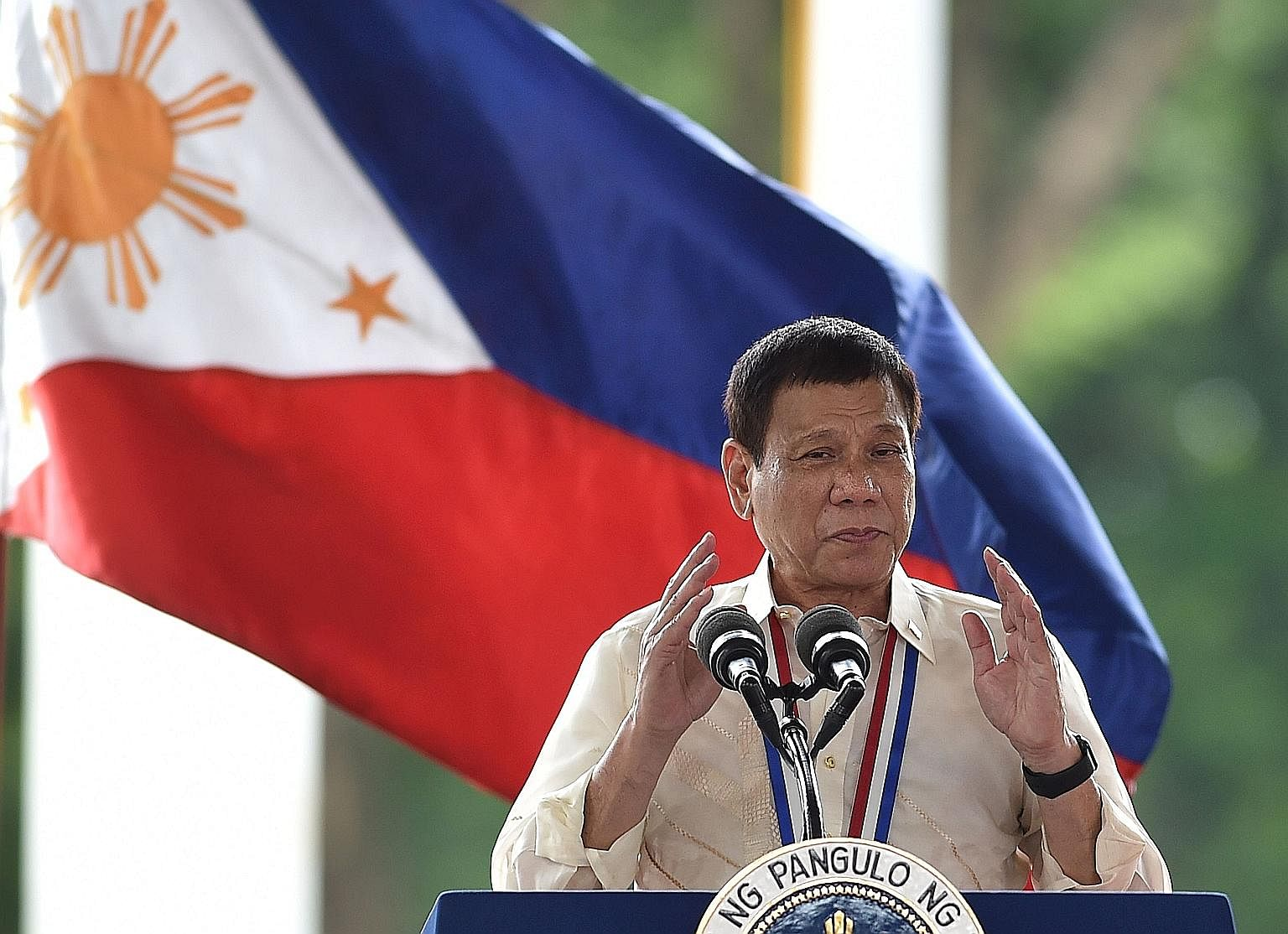 President Duterte's administration is not only interested in rebuilding frayed ties with China, which has dangled large-scale infrastructure investments among other incentives, but is also calling for a more independent Philippine foreign policy whic