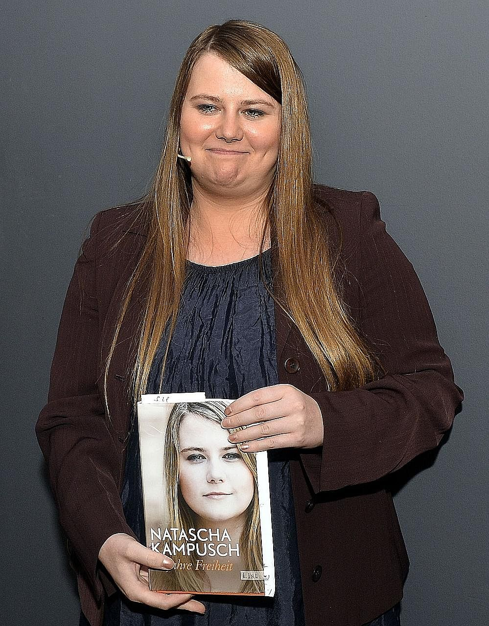 Ms Kampusch during the presentation of her new book 10 Jahre Freiheit (10 Years' Freedom) on Aug 17, marking the 10th a