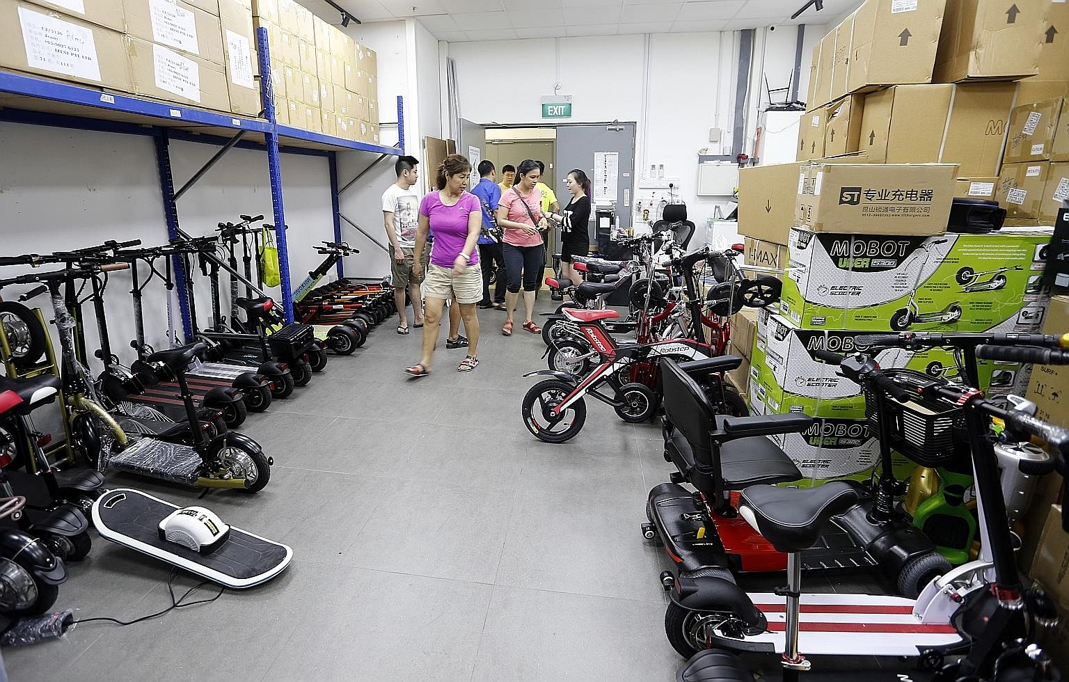 E Scooter Sales Take Off After Bike Safety Rules Kick In Electric Wiring Schematic Scooters For Sale Singapore News Top Stories The Straits Times