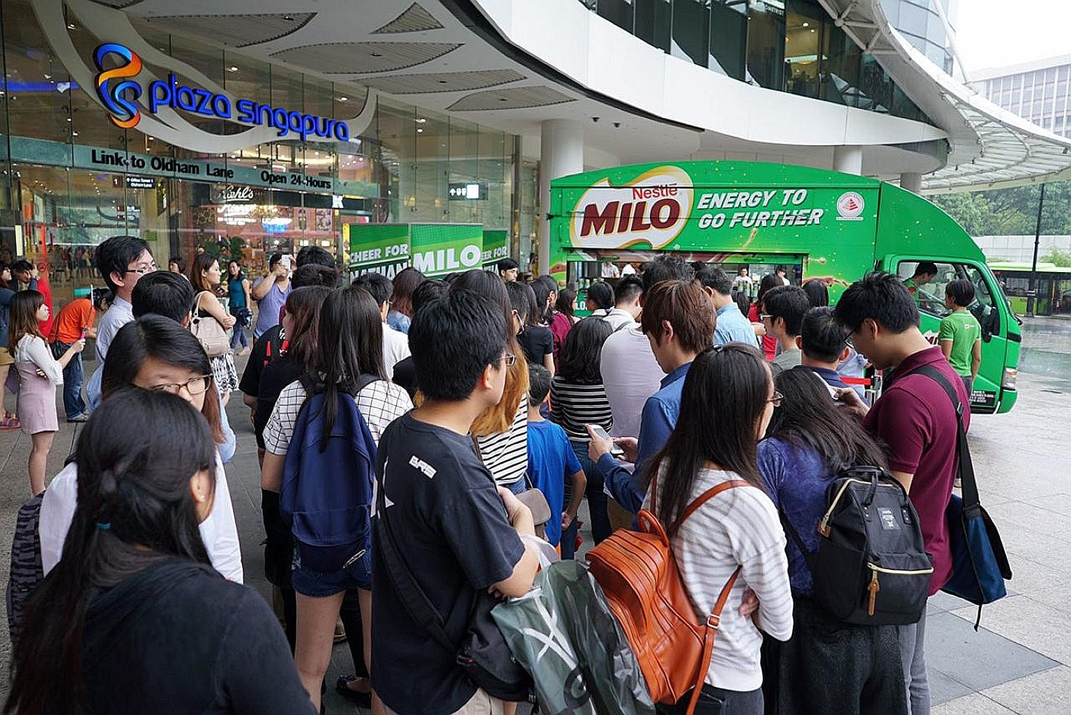 Fox News correspondent Jesse Watters' interviews with Asians about the US election have come under fire for being racist. A Milo van giving away free cups of iced Milo at Plaza Singapura last Friday, in support of home-grown singer Nathan Hartono ahe