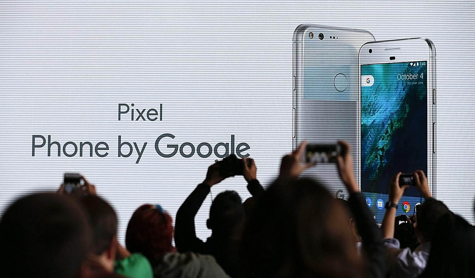 Google launching Pixel with a big bang - and budget.
