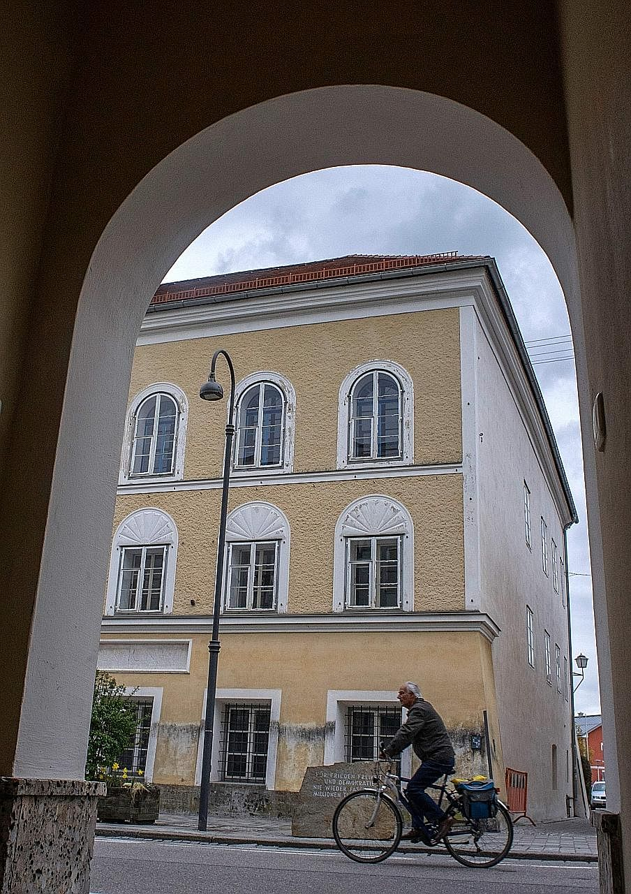 Hitler was born in this house in the town of Braunau am Inn, about 120km east of Munich. The Austrian government may want to tear it down, for fear that it could become a pilgrimage site for neo-Nazis.