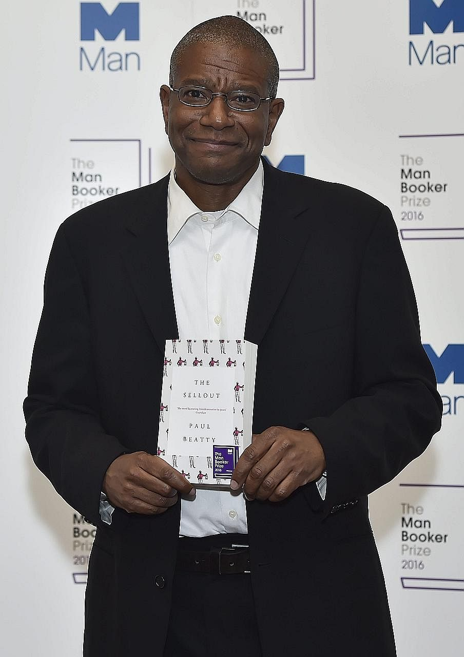 Paul Beatty, winner of the 2016 Man Booker Prize for his novel The Sellout.