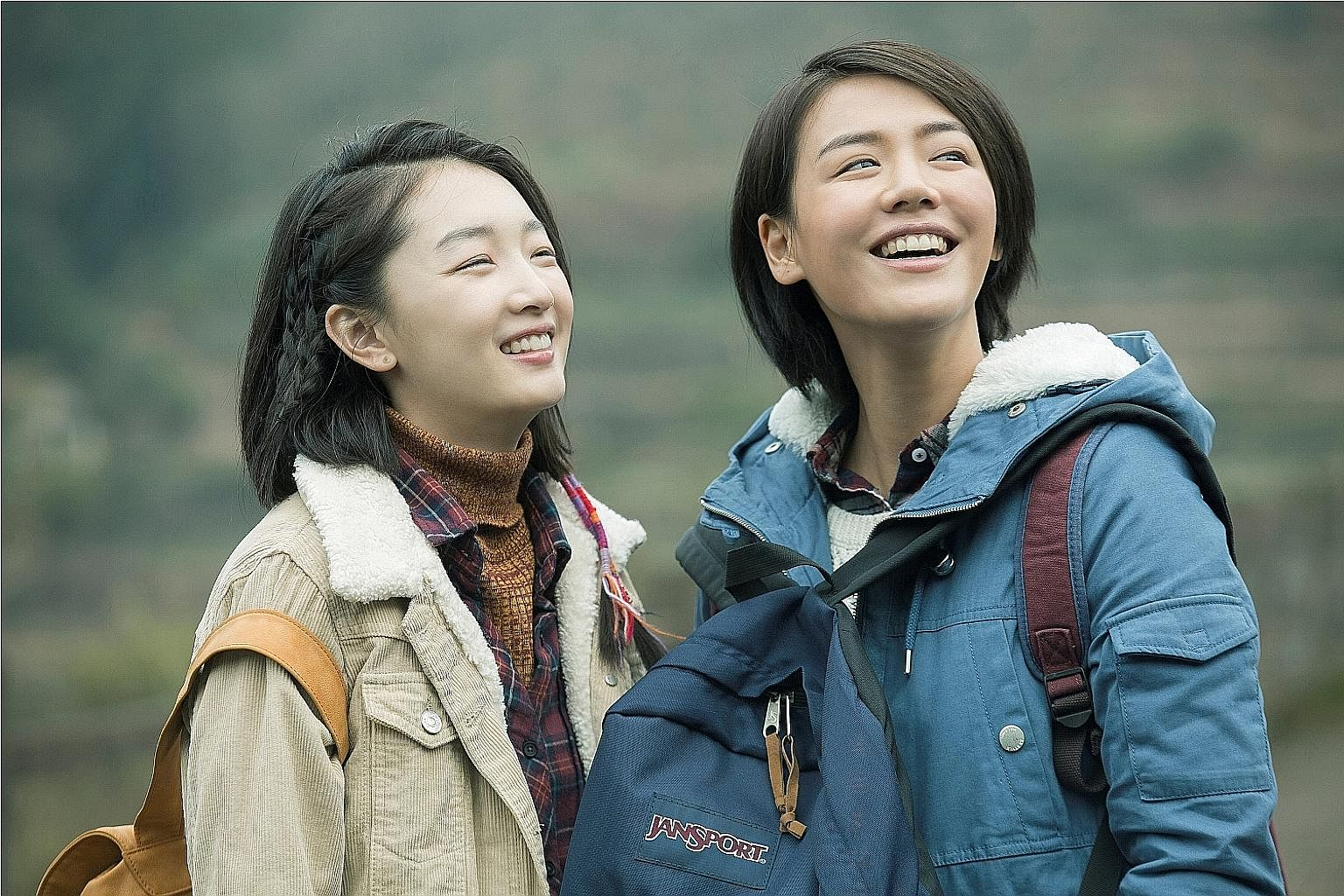 Actresses Zhou Dongyu (far left) and Ma Sichun play unlikely friends in Soul Mate.