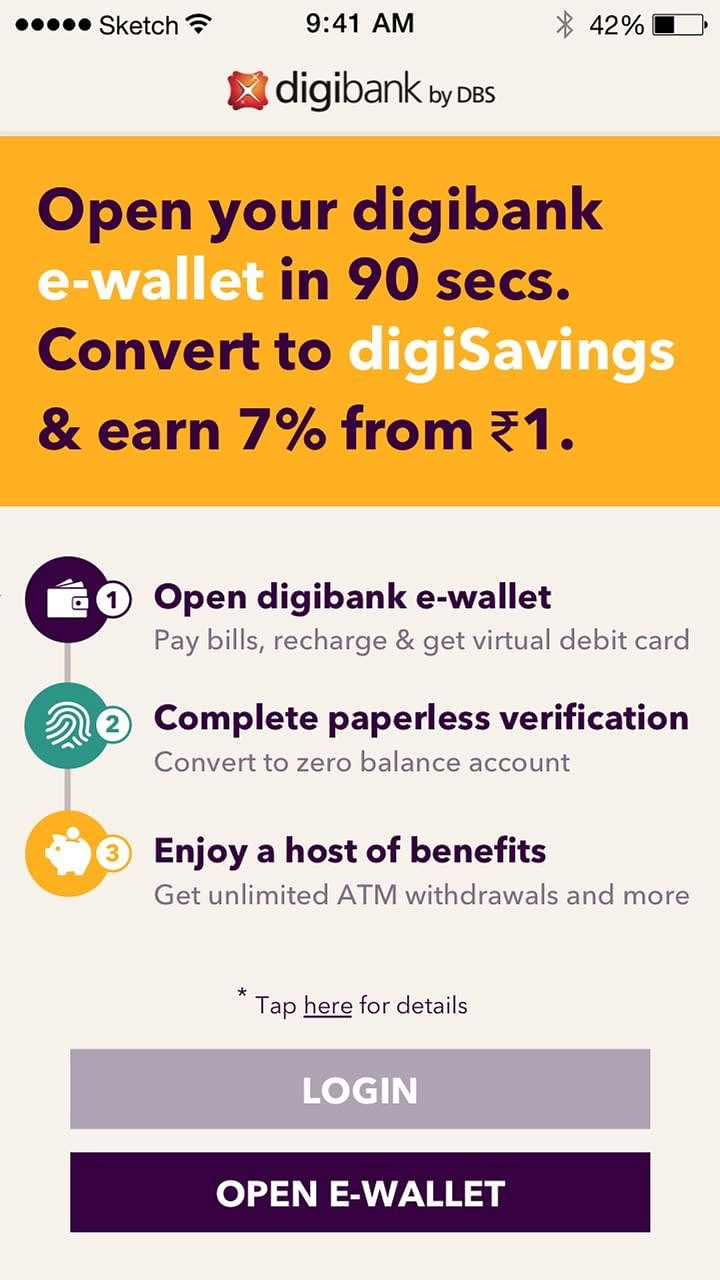 In May, DBS launched digibank, India's first mobile-only bank.