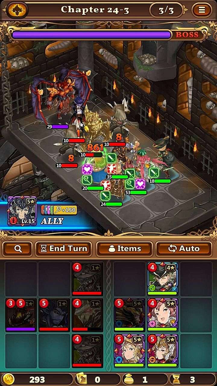Build a party of heroes, kill monsters, return stronger and better able to kill tougher monsters.