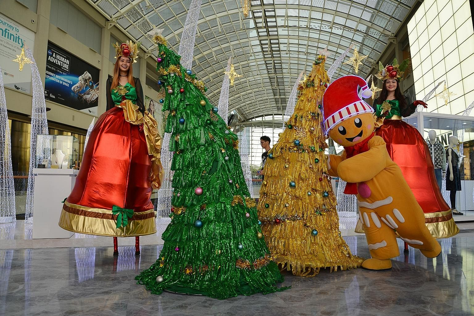 Nice Walking Christmas Tree Part - 5: From A Walking Tree To One With Pokemon Toys, Here Are Six Trees To Check  Out This Festive Season. Benson Ang Reports