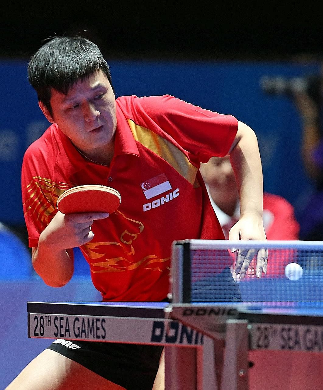 Su Fengxian (above), mother of former national table tennis player Li Hu (left), is accused of bribing STTA technical director Loy Soo Han, so as to influence an STTA investigation into her son.