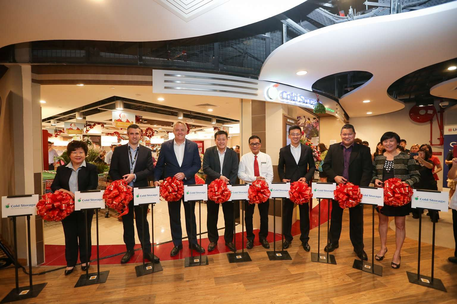 Cold Storage Flagship Reopens At The Centrepoint Singapore News