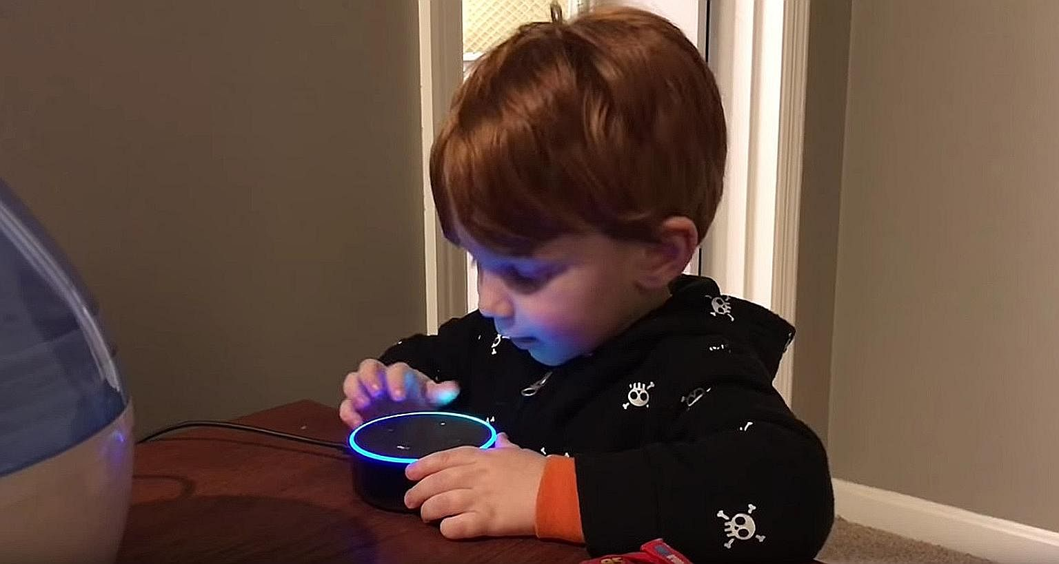 This boy and his family were shocked when he asked Echo Dot to play him his favourite songs and got pornographic phrases instead. A man with headphones and virtual reality (VR) glasses watching films at a VR cinema in Amsterdam. Pundits, who had proc