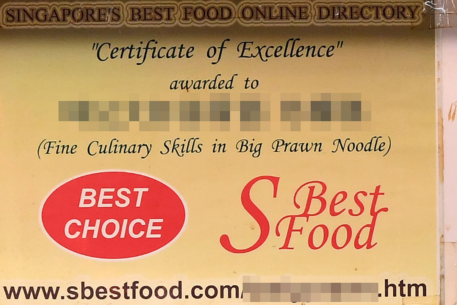 Hawkers With Accolades Food Award Or Paid Ad Singapore News Top