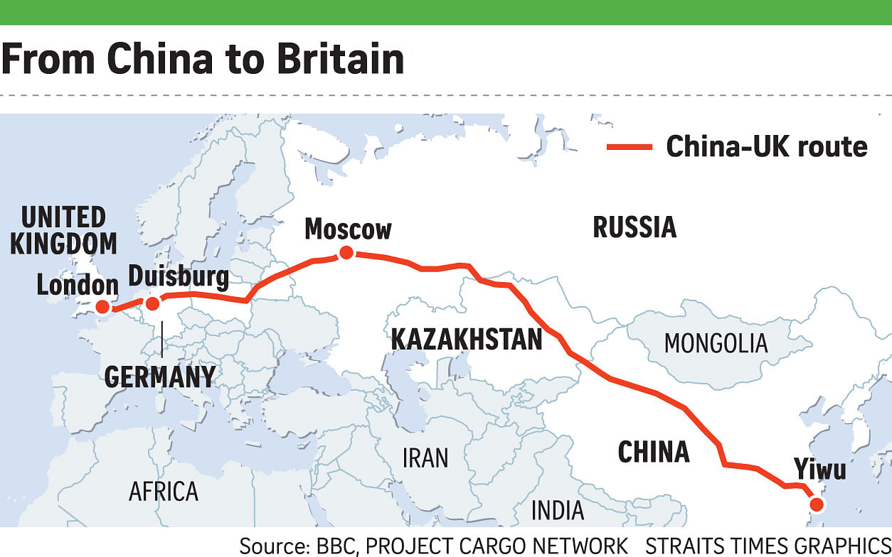 New Silk Road\'s impact on shipping will be limited, Business News ...