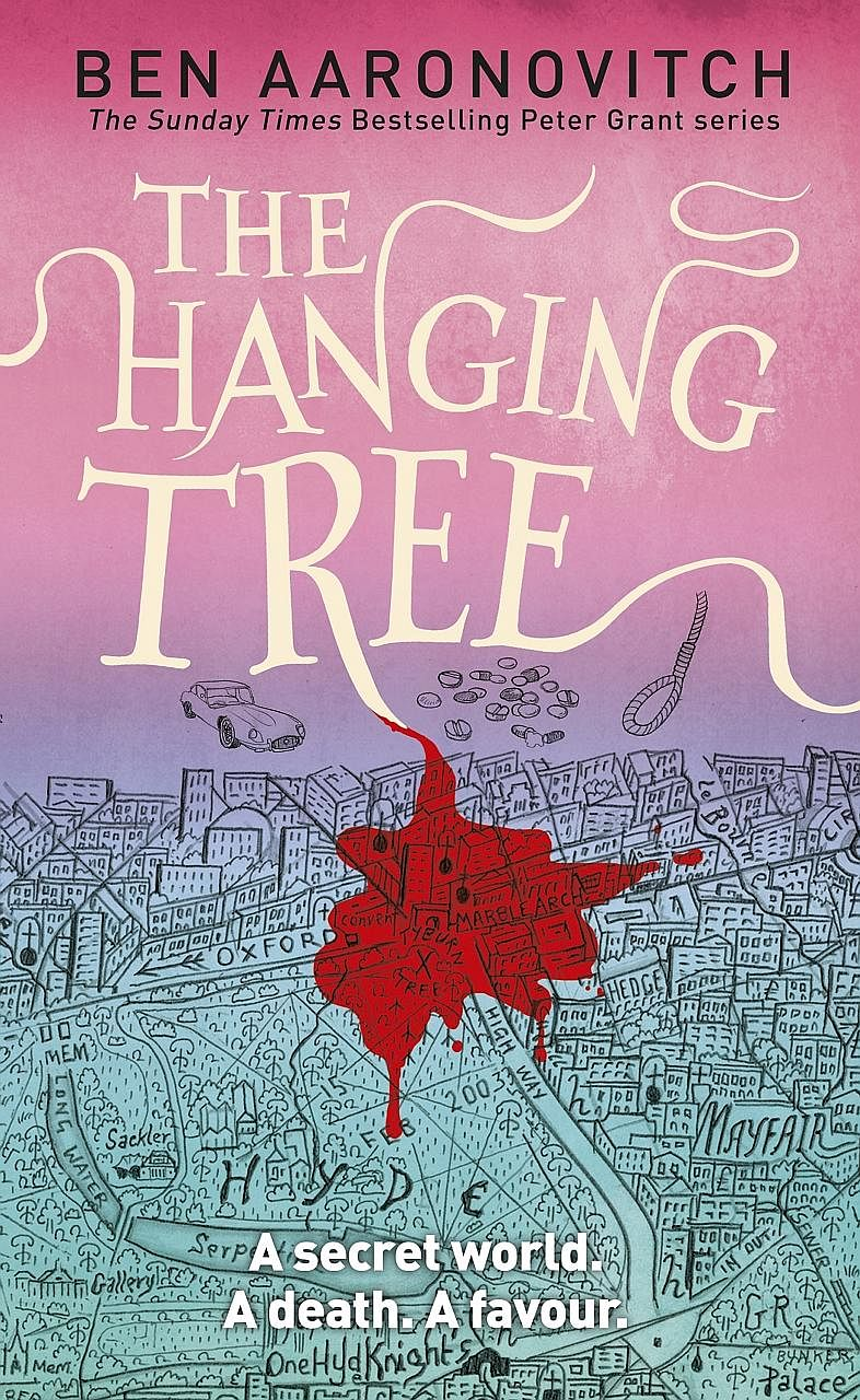 The Hanging Tree (above), the sixth book of the Rivers Of London series by Ben Aaronovitch, was released last November.