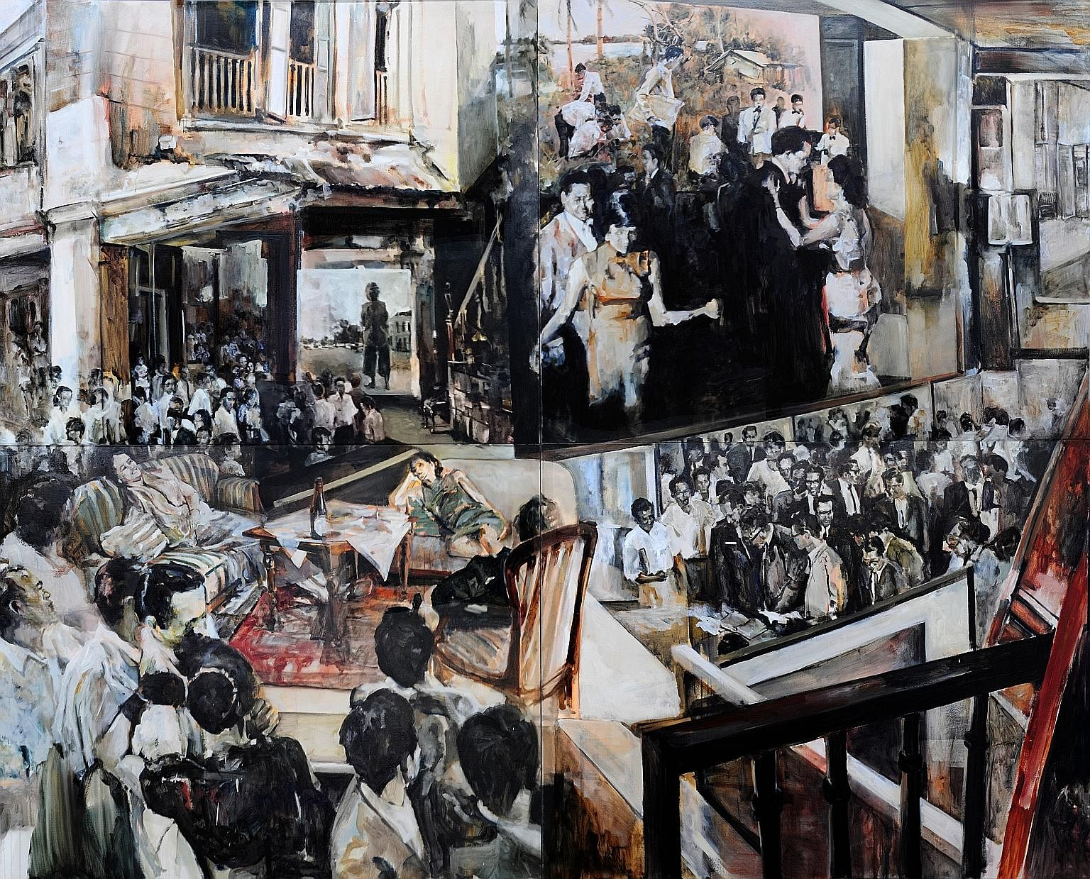 The Vernissage by Hilmi Johandi (above), in The City Book.