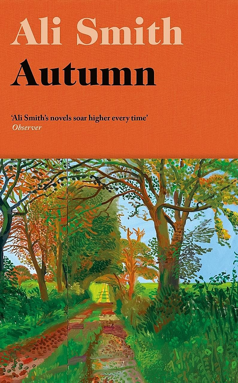 Autumn (above) is by Scottish author Ali Smith.