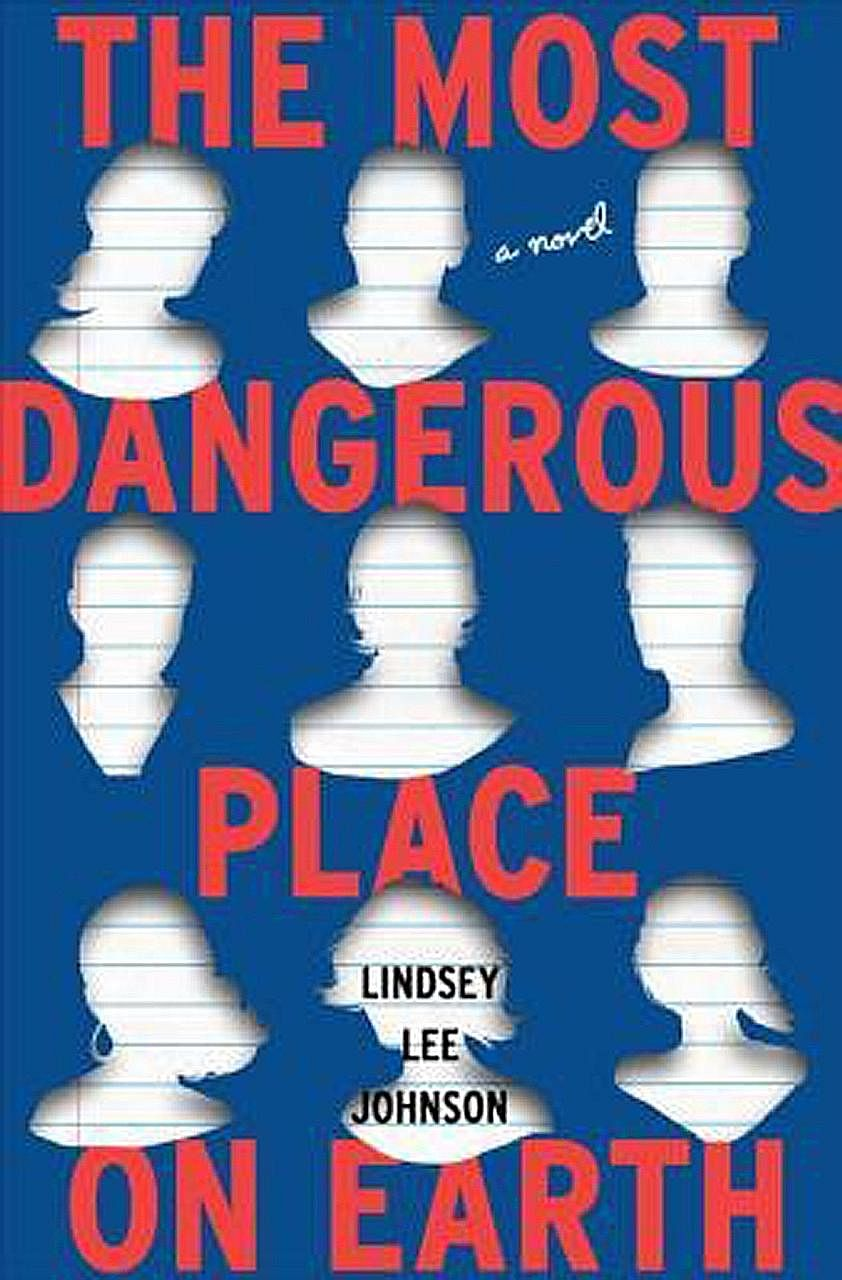 The Most Dangerous Place On Earth is the debut novel of Lindsey Lee Johnson (above).