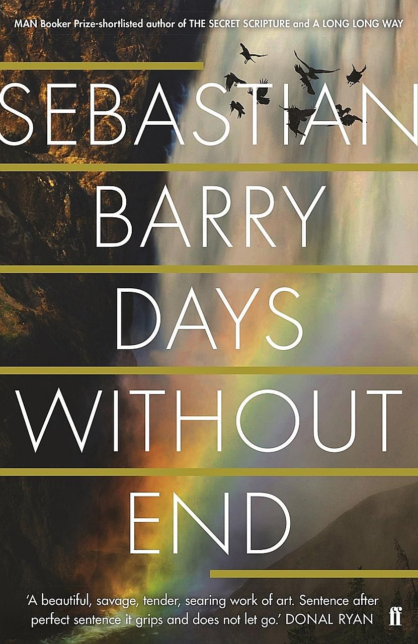 Days Without End by Sebastian Barry tells a first-person story of an Irish boy who joins the American army.