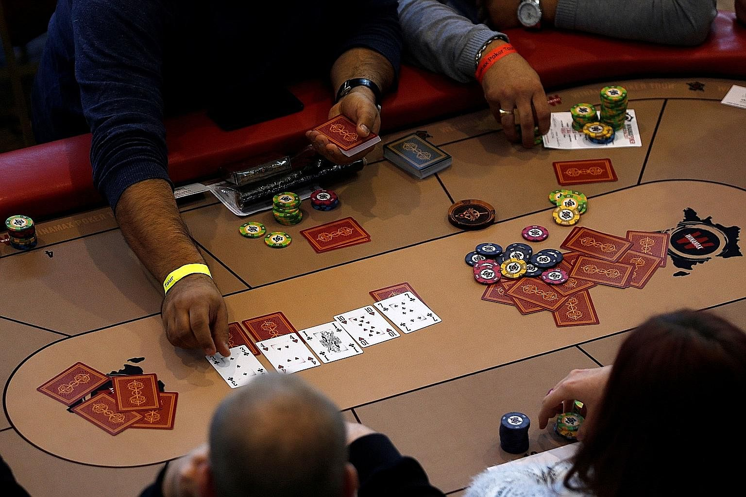 Compared with other games, poker is a big challenge for AI. It is a game of uncertainty as players don't know other players' cards. It also requires an understanding of the psychology of other players.