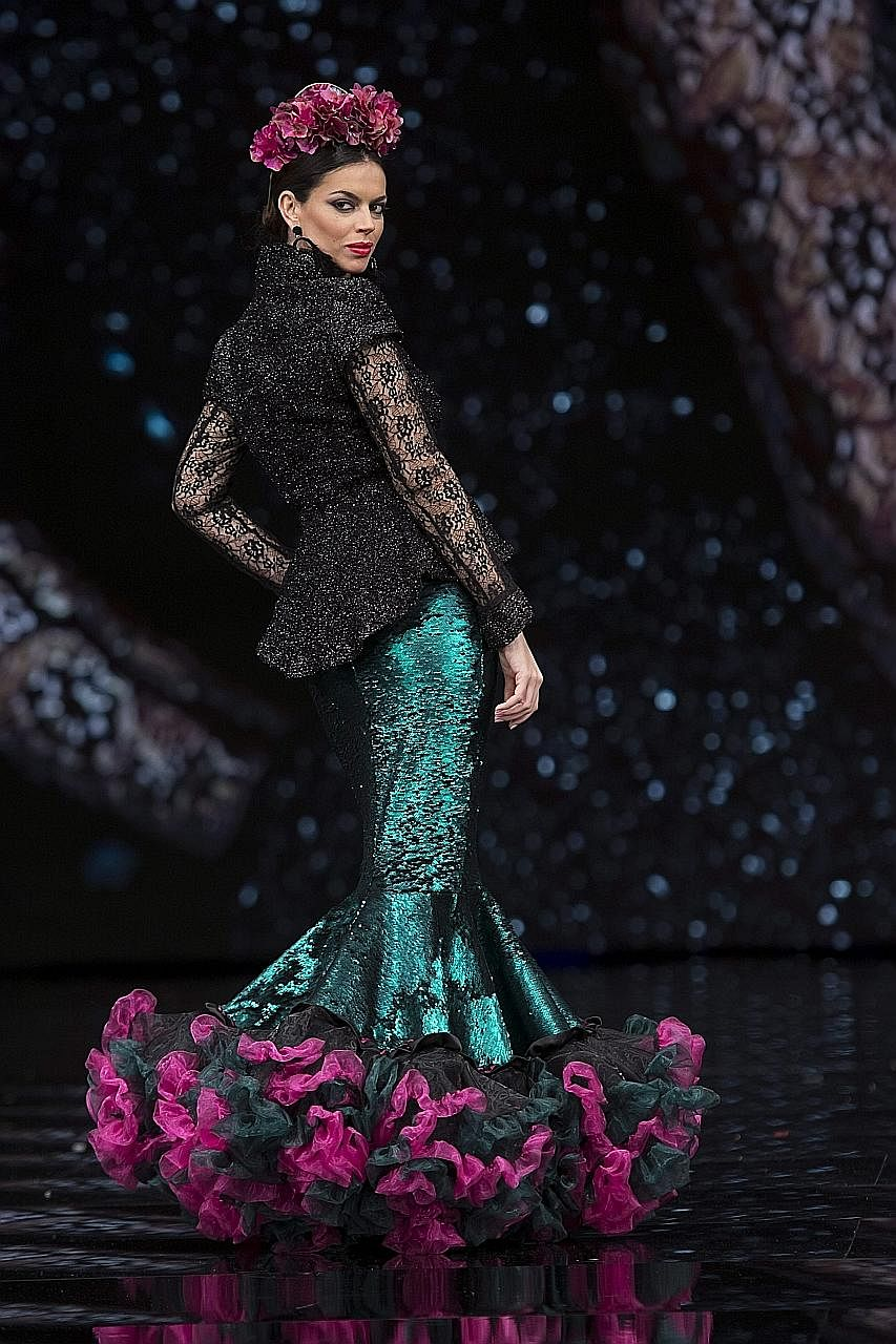 Flamenco fashion took centre stage in Seville, southern Spain, last week. International Flamenco Fashion Fair Simof 2017 ran from Thursday to Sunday, presenting the latest styles from the dance. Among those showing their collections was Atelier 109 P