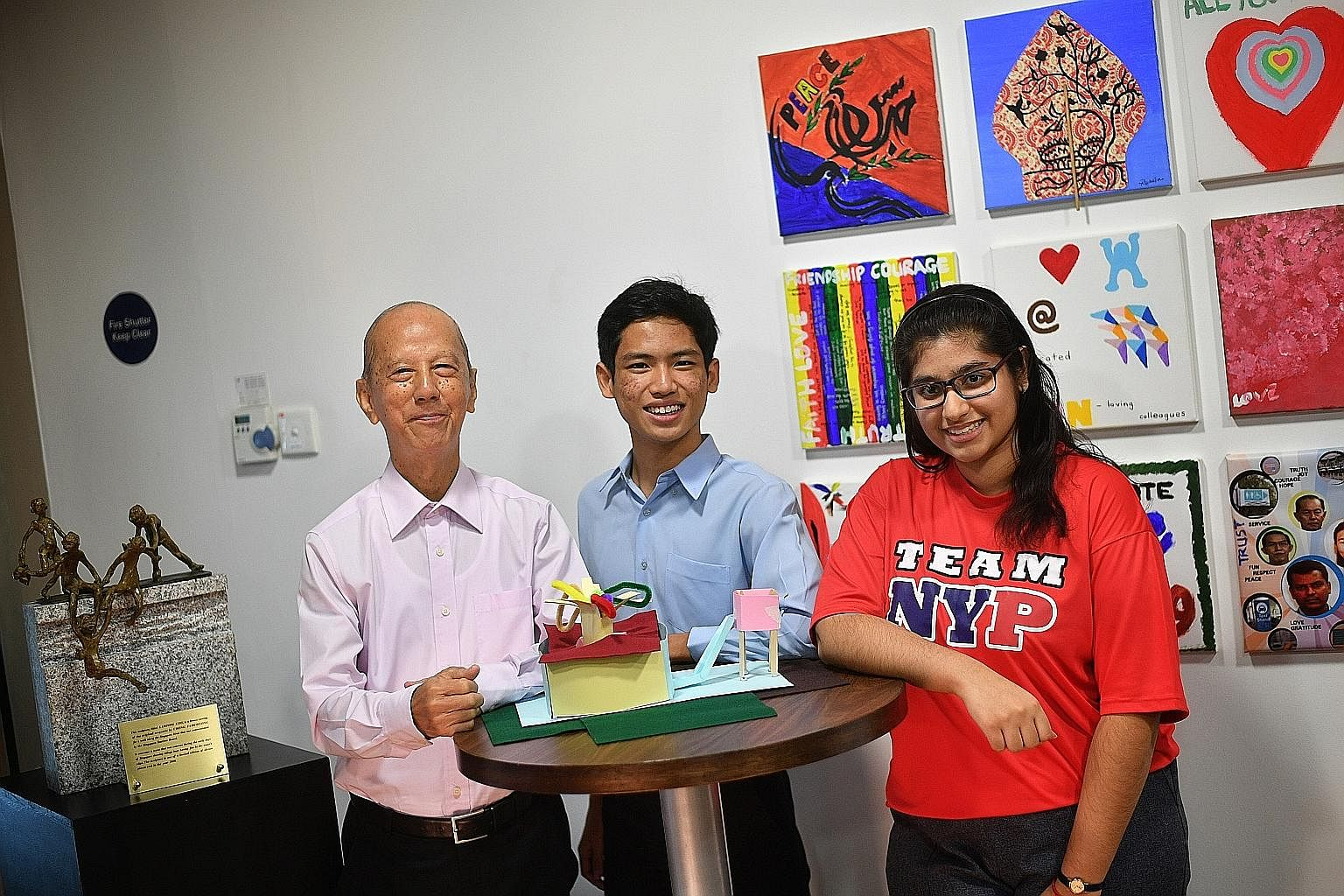 Retiree Low Foo Yong, 79; Mr Nur Hazeem Abdul Nasser, 18, founder of a non-profit youth organisation ALittleChange; and, Ms Nattasha Nina Alvinur, 18, a Nanyang Polytechnic student were among the public participants who shared their views
