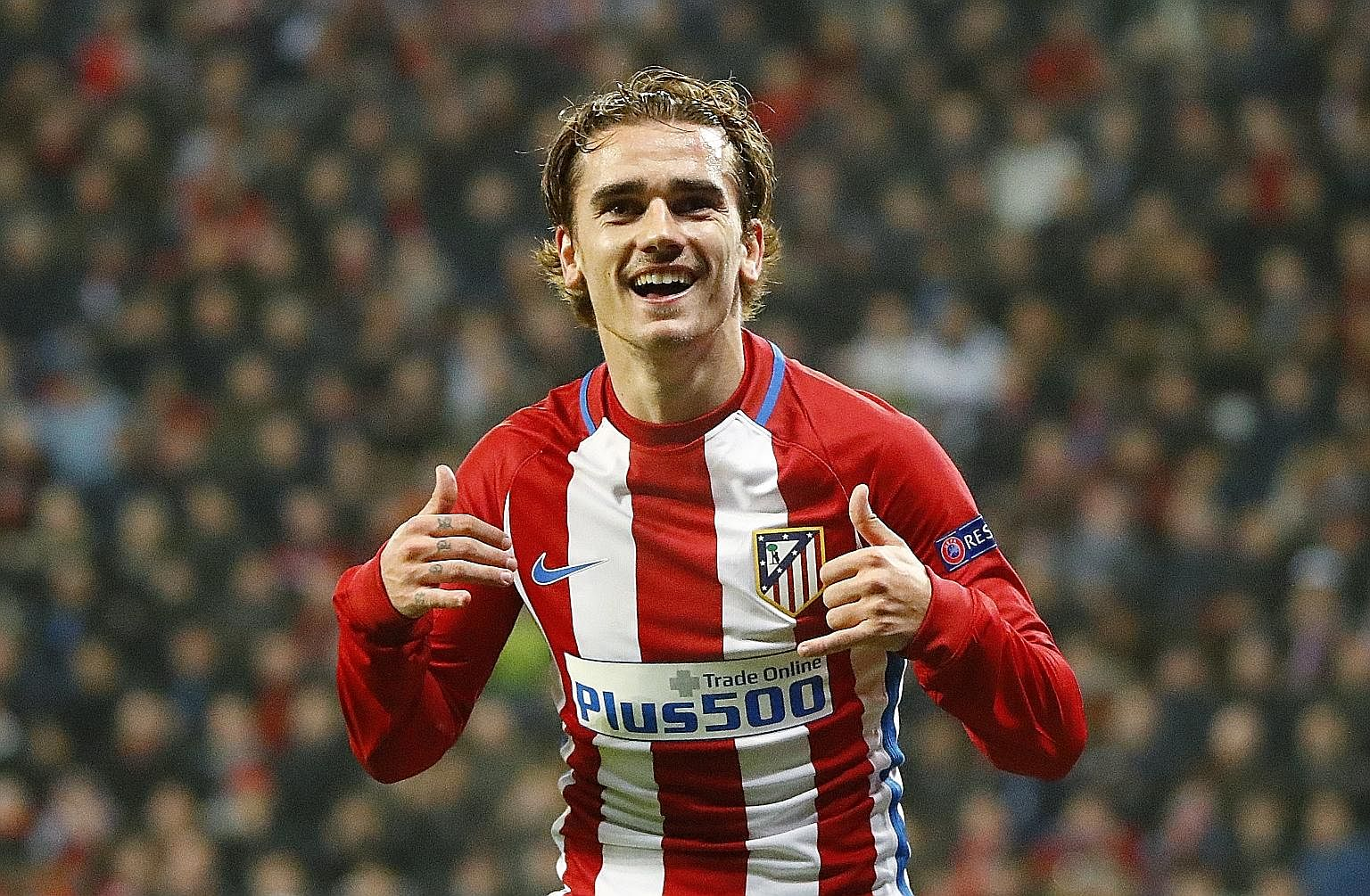 Atletico Madrid and France striker Antoine Griezmann is heavily linked with a move to Manchester United in the summer. His arrival is likely to result in United skipper Wayne Rooney leaving the English giants for China.