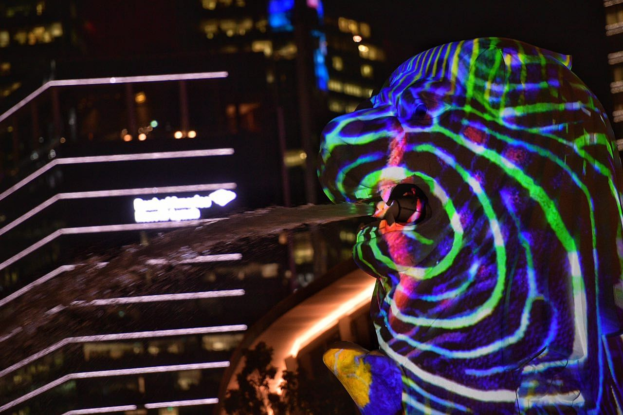 20 Light Art Installations On Display At I Light Marina Bay Singapore News Top Stories The Straits Times