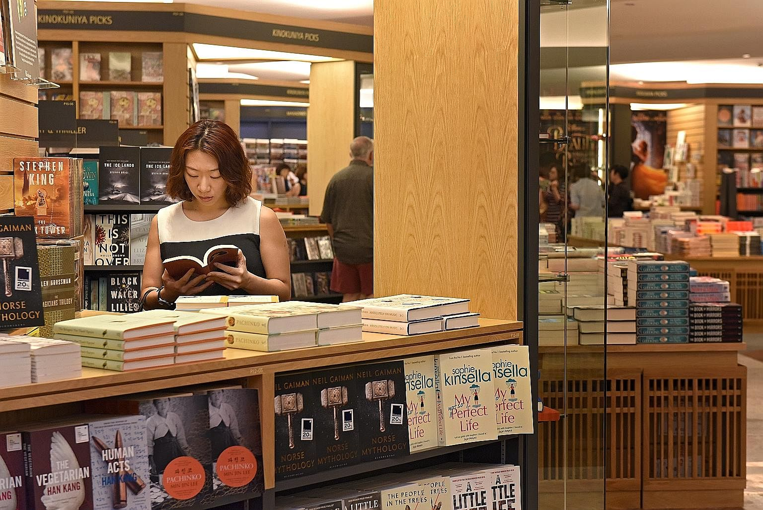 Kinokuniya boasts a new look and a wider selection.