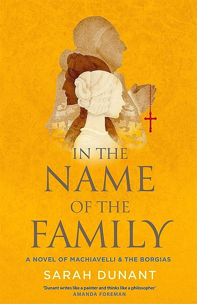 Sarah Dunant concludes her two-book novel on Italy's infamous Borgia family with In The Name Of The Family.