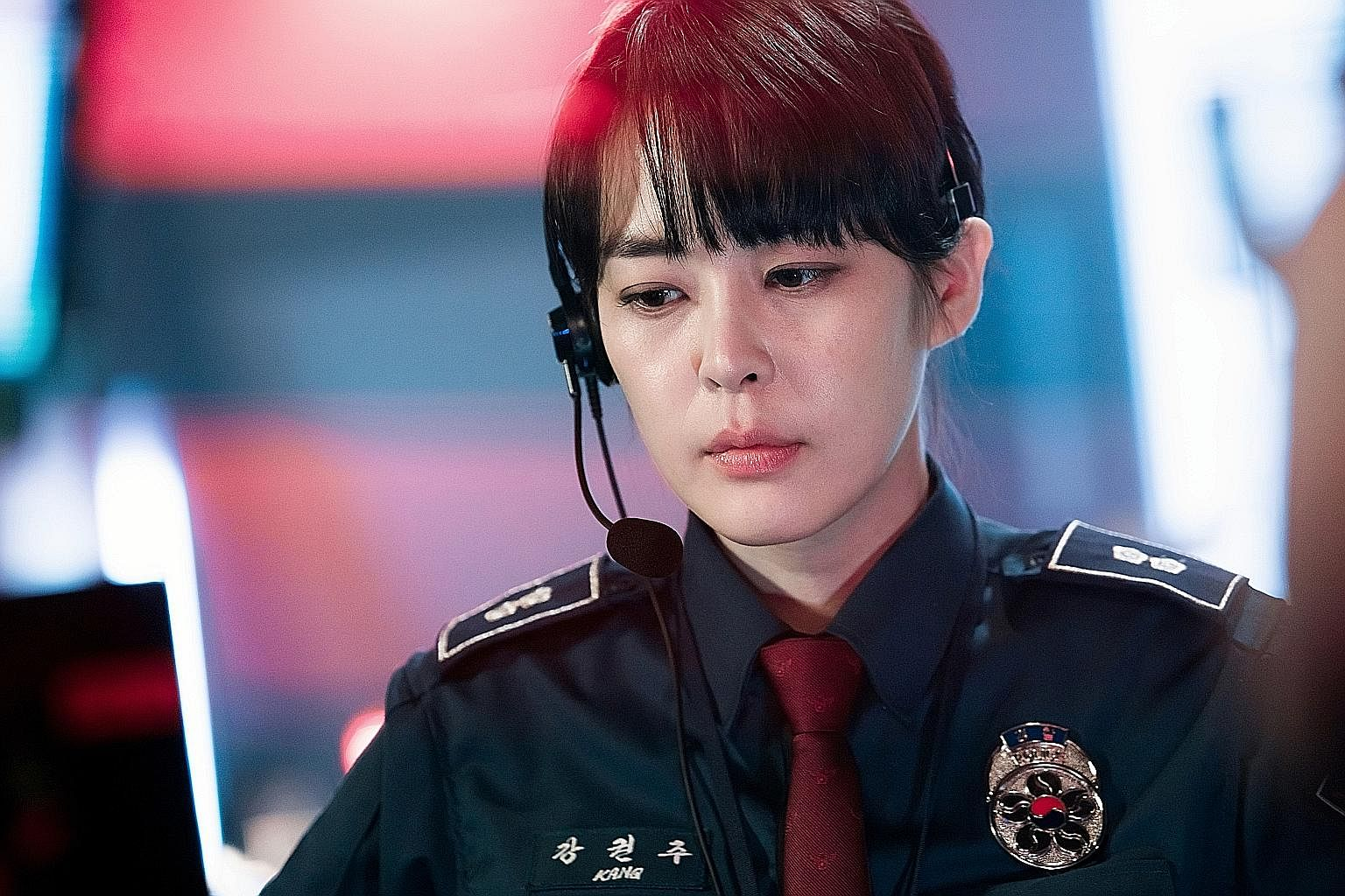 Lee Ha Na plays a rookie policewoman in Voice.