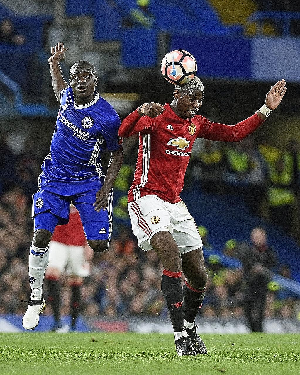 Chelsea's midfield dynamo N'Golo Kante outshining his Manchester United counterpart Paul Pogba, scoring the only goal in their 1-0 FA Cup quarter-final win. Kante has been the heartbeat of the Blues as they run away with the Premier League.