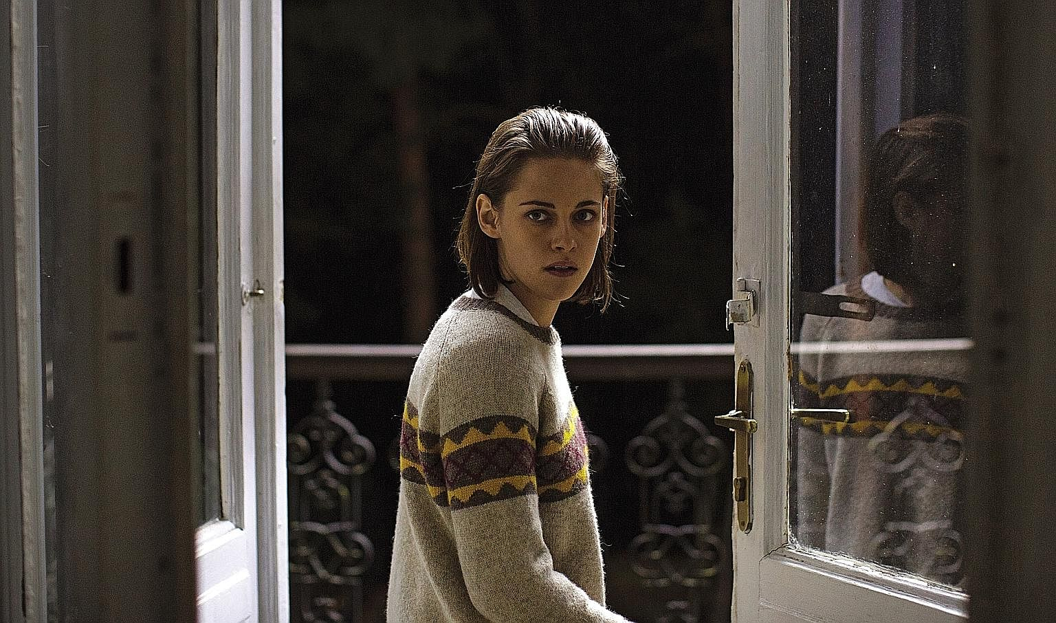 In Personal Shopper, Kristen Stewart plays Maureen, who has a spiritual awakening through what might be a haunting.