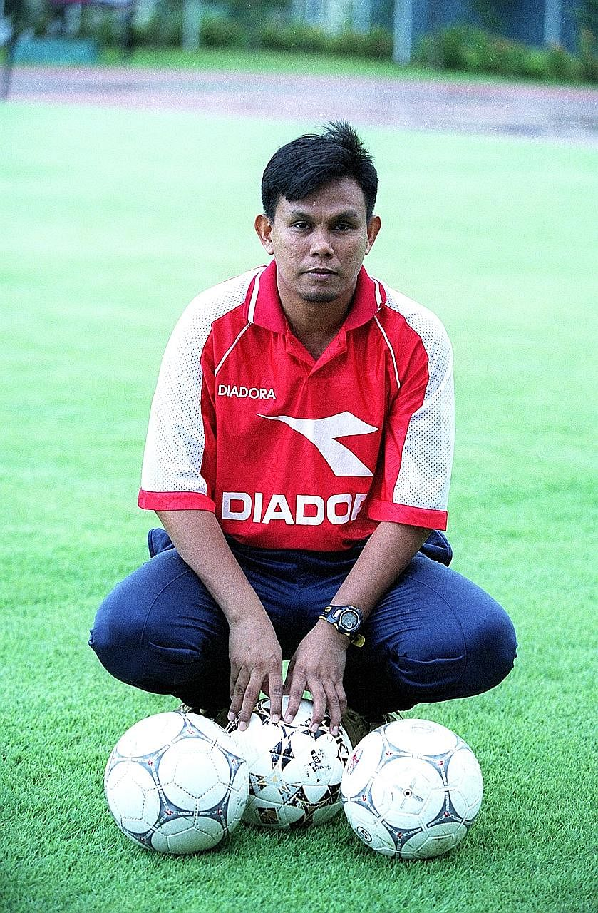 Former Singapore national goalkeeper Yakob Hashim hopes, among other things, for the revival of the amateur football scene.