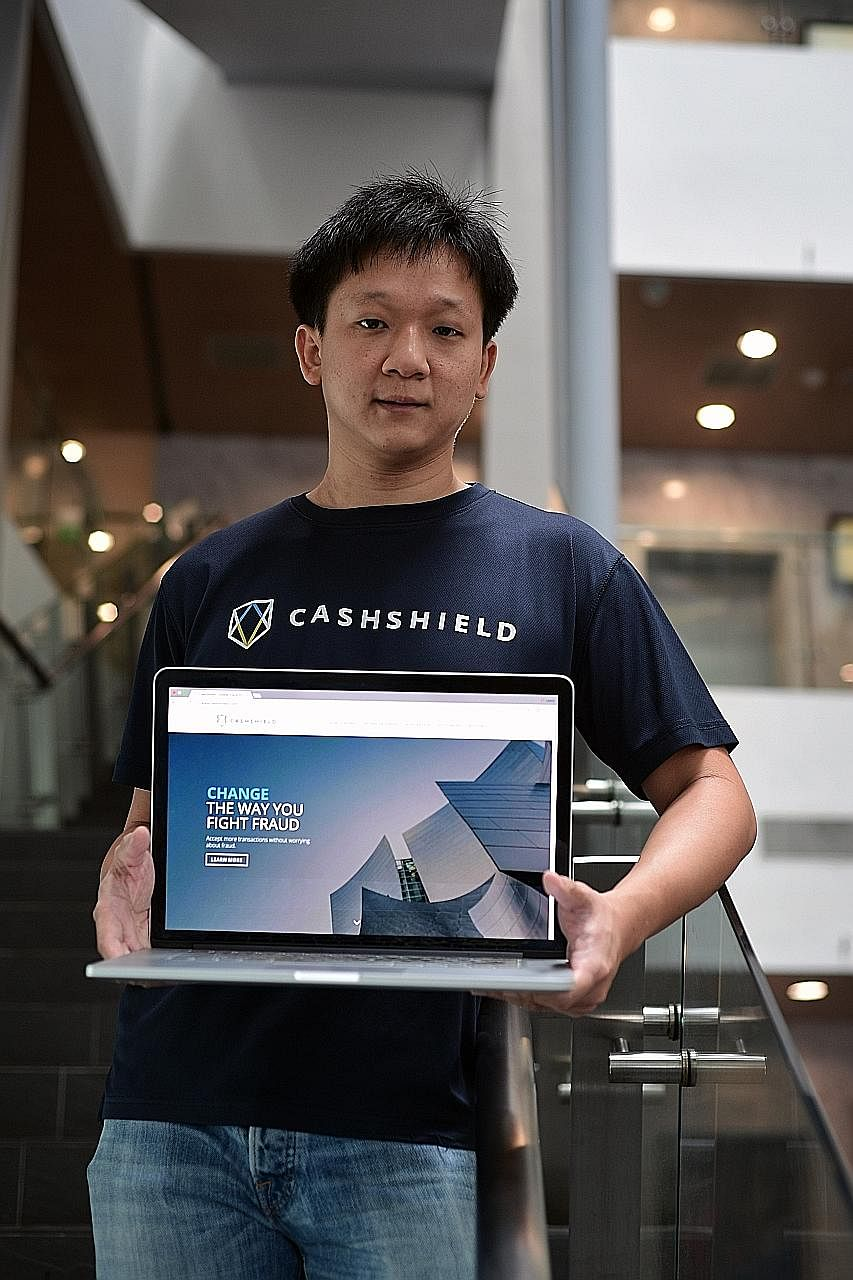 Mr Justin Lie Wee Chian says his biggest asset remains his company CashShield, which provides services to businesses in more than 20 countries in Europe and the Americas, and has also entered China.
