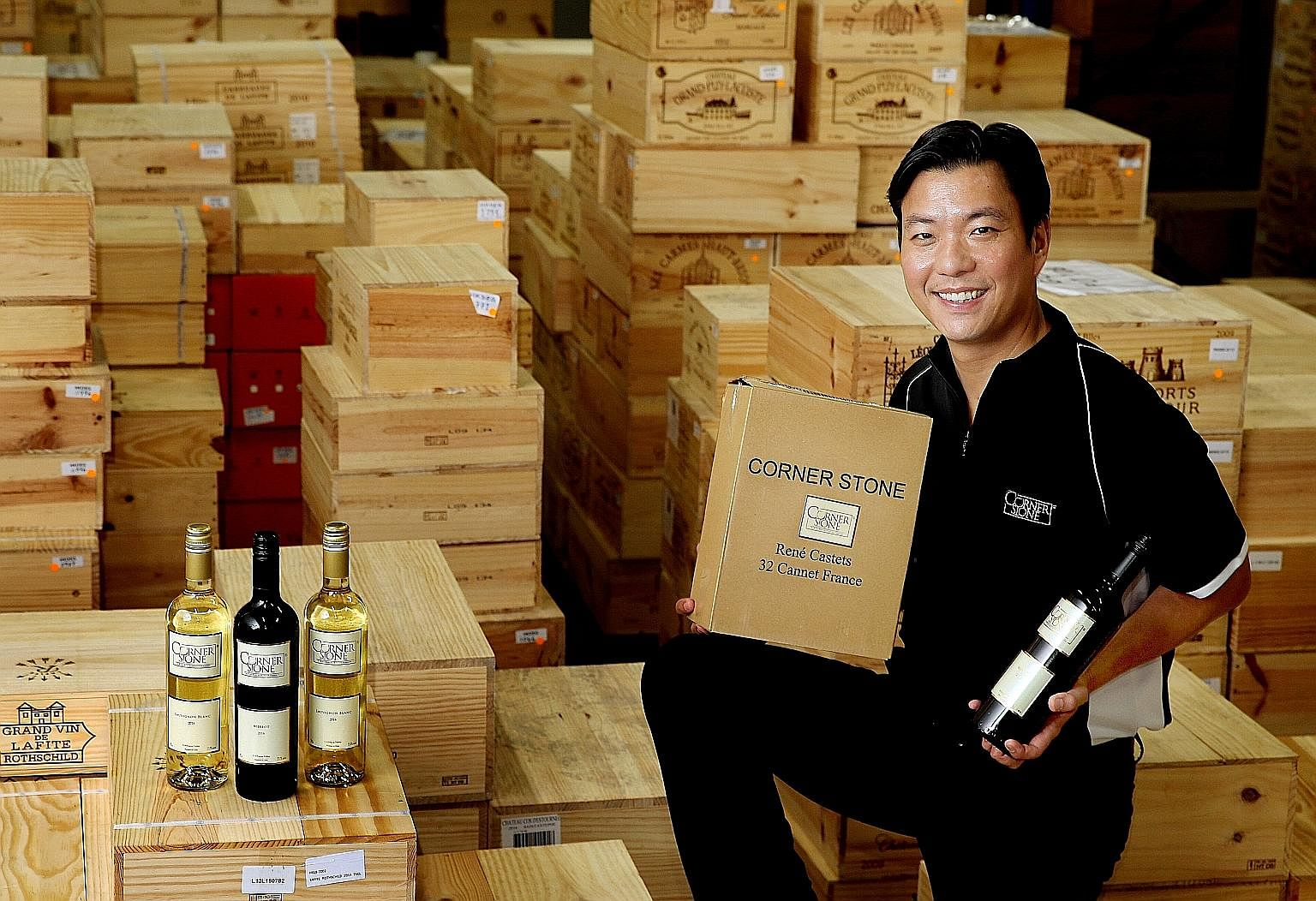 CornerStone for expansion of wine and spirits business