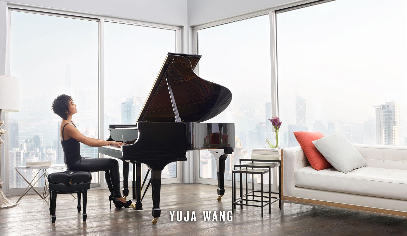 Yuja Wang and Steinway Spirio piano