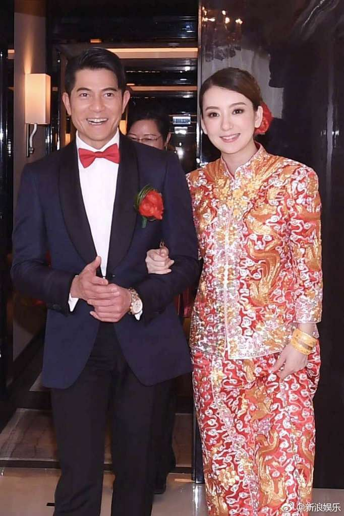 Aaron Kwok weds, his father in law says: 'I grew up listening to