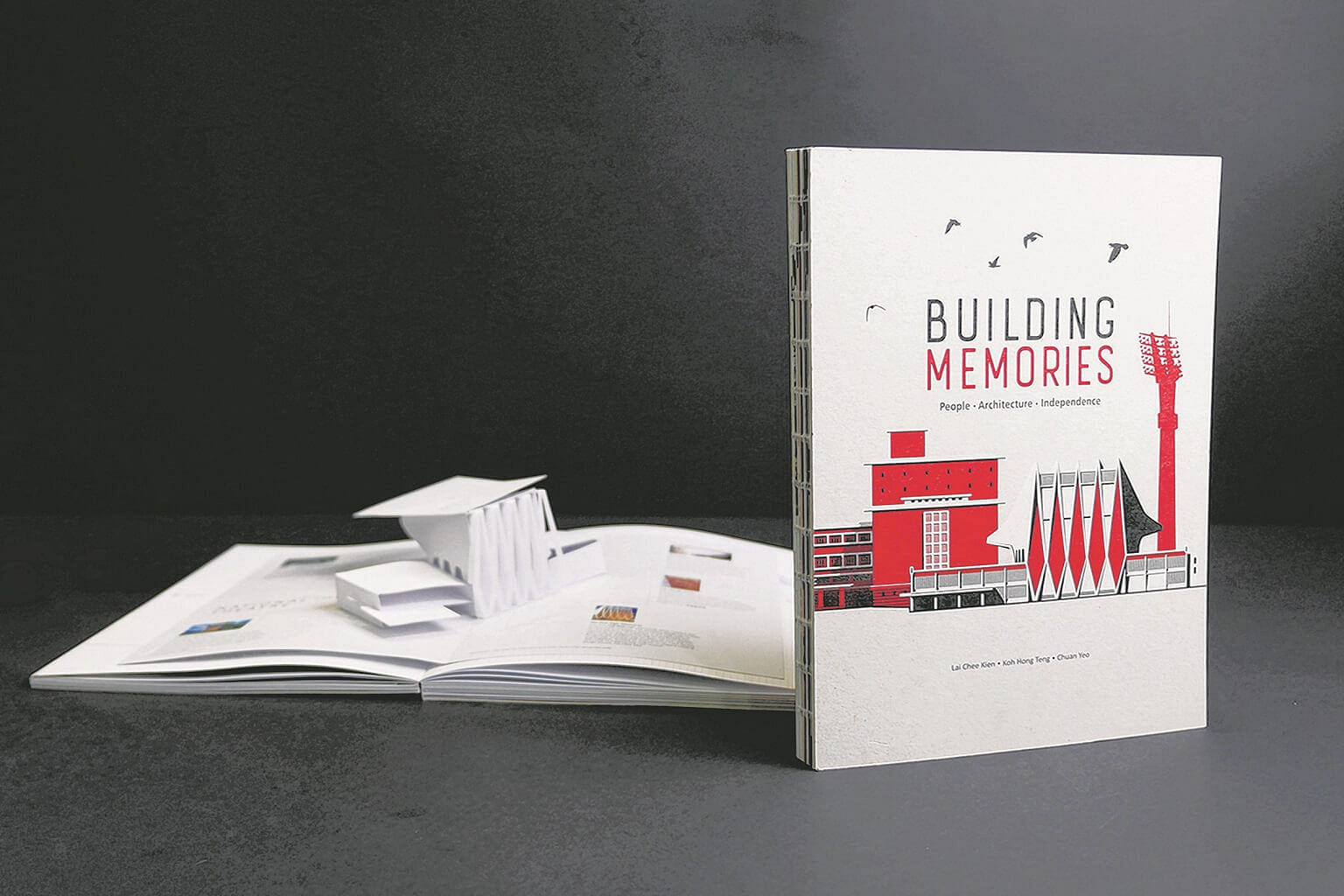 Art book on historic buildings recognised at industry book