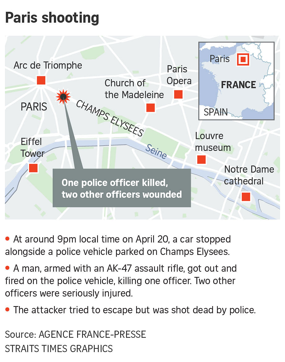 ISIS claims Paris attack that left policeman dead