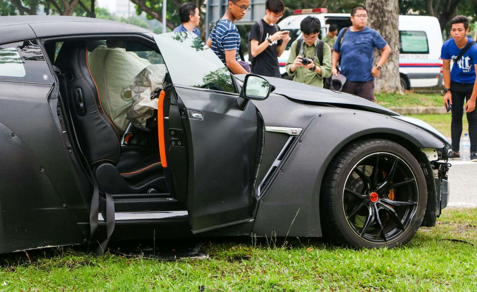 Teen Who Crashed Nissan GTR Into Car At Kallang Walk Charged With Causing  Grievous Hurt, Courts U0026 Crime News U0026 Top Stories   The Straits Times