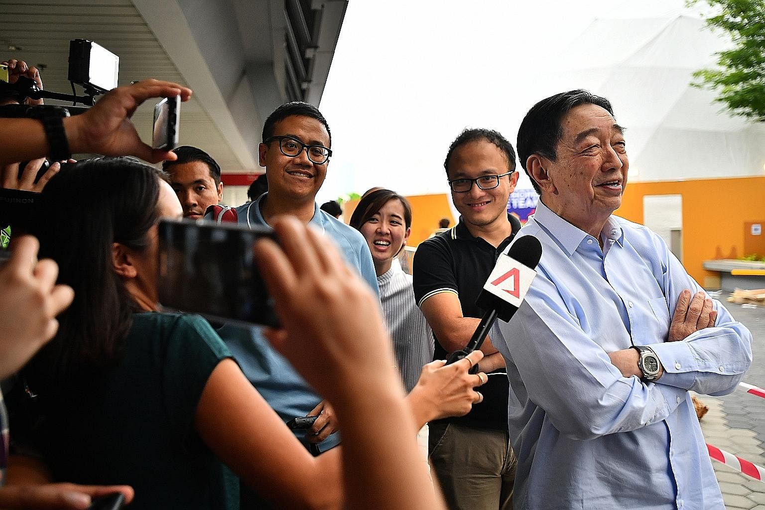 Newly-elected FAS vice-president Teo Hock Seng was a crucial asset for Team LKT. The former Tampines Rovers chairman's standing in the game and renowned passion towards Singapore football gave more clout to the winning team.