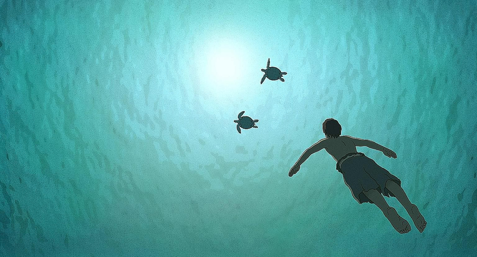 The animation The Red Turtle (above) strips storytelling down to its mythic fundamentals. In Brain On Fire (left), Chloe Grace Moretz's depiction of a person afflicted with brain seizures is an upside to a formulaic movie.