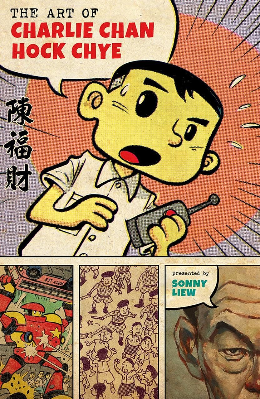 The Art Of Charlie Chan Hock Chye by Sonny Liew (left) is a satirical retelling of Singapore's journey to nationhood through the eyes of a fictional comic artist.