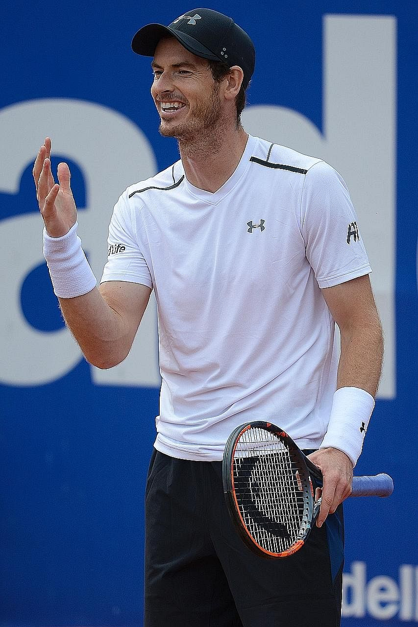 Wimbledon champion Andy Murray continues to argue that players returning from doping bans should work their way back.