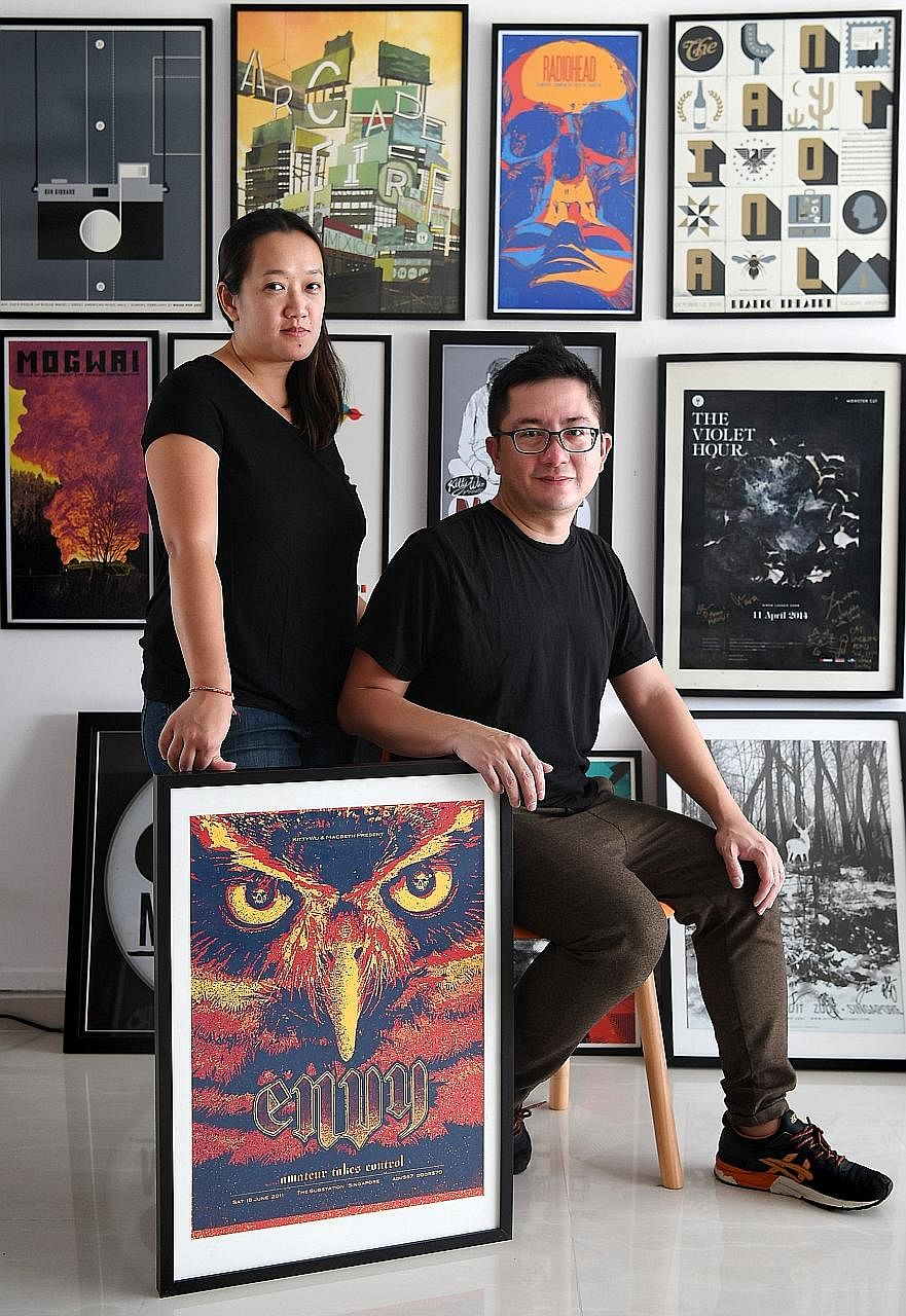 Mr Errol Tan and Ms Lesley Chew, the husband- and-wife duo behind KittyWu. Mr Willy Tan runs Aging Youth, which handles artist management, concert organising, publishing and other music- related services.