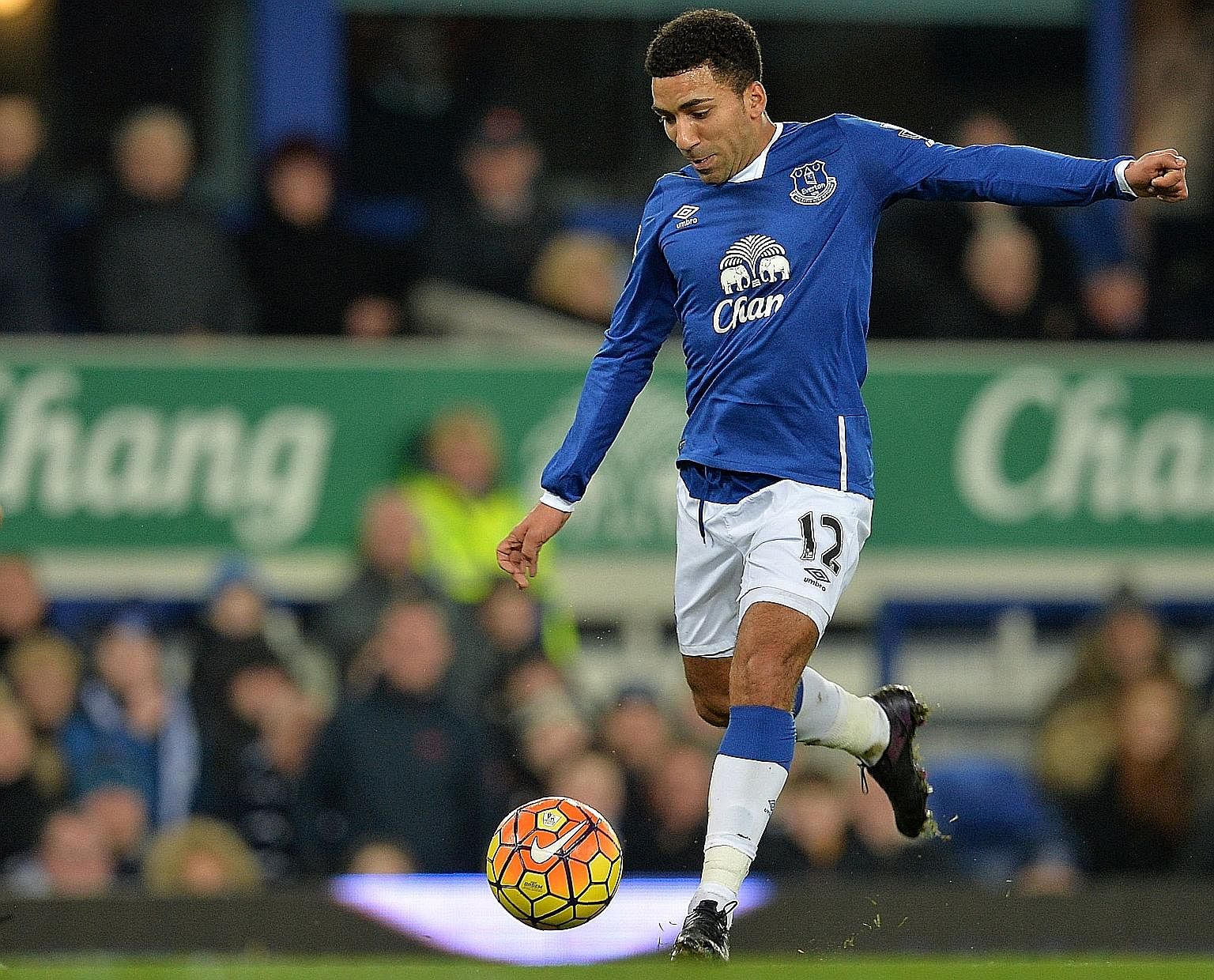 Everton winger Aaron Lennon has made just six Premier League starts this term and has not featured for the Toffees since Feb 11.