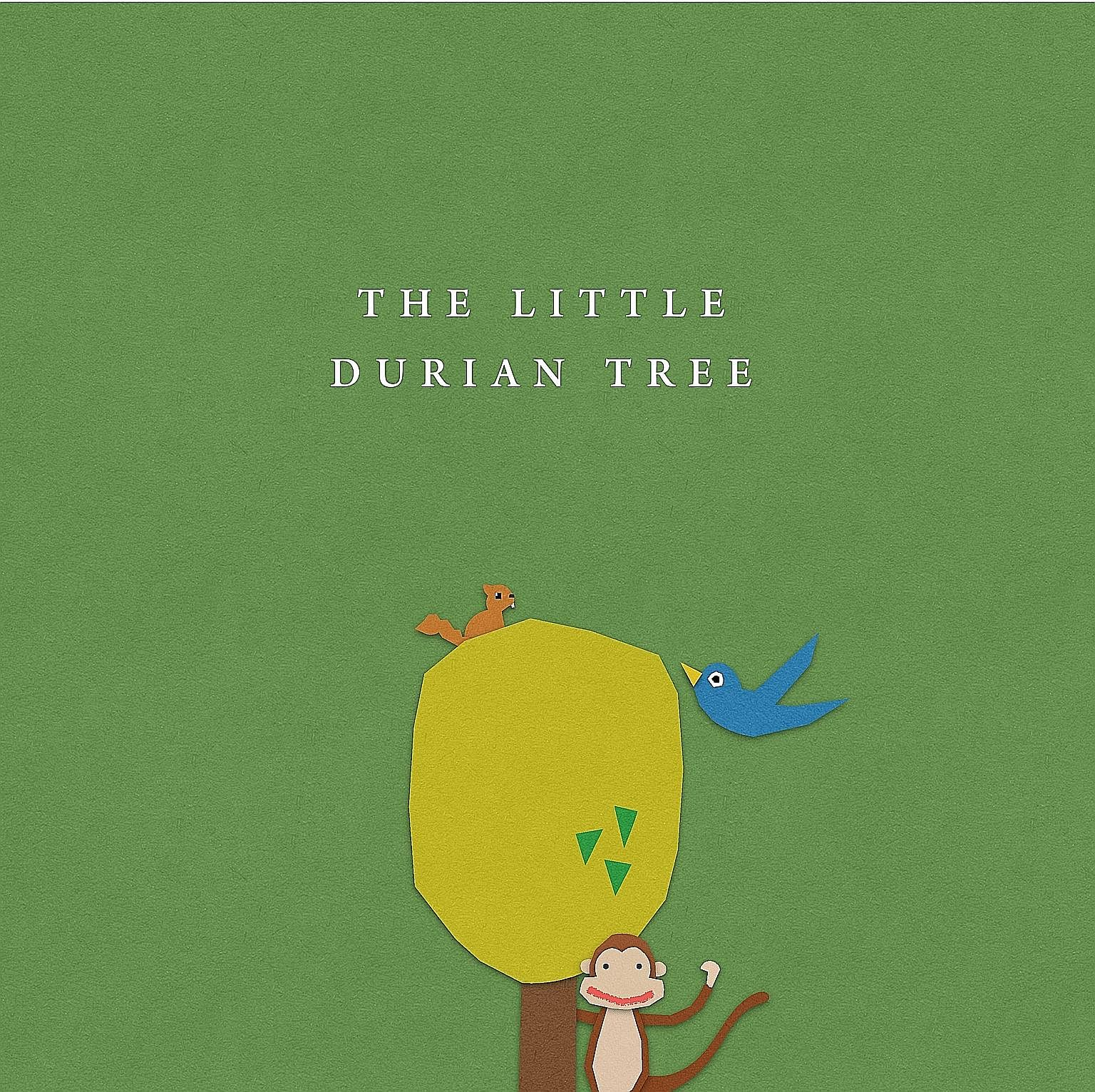 Students Melodie Edith James, Kylen Ho, and Shona Adisri Menon, all 19, are part of the five-member team that produced The Little Durian Tree (above), winner of the Scholastic Picture Book Award.
