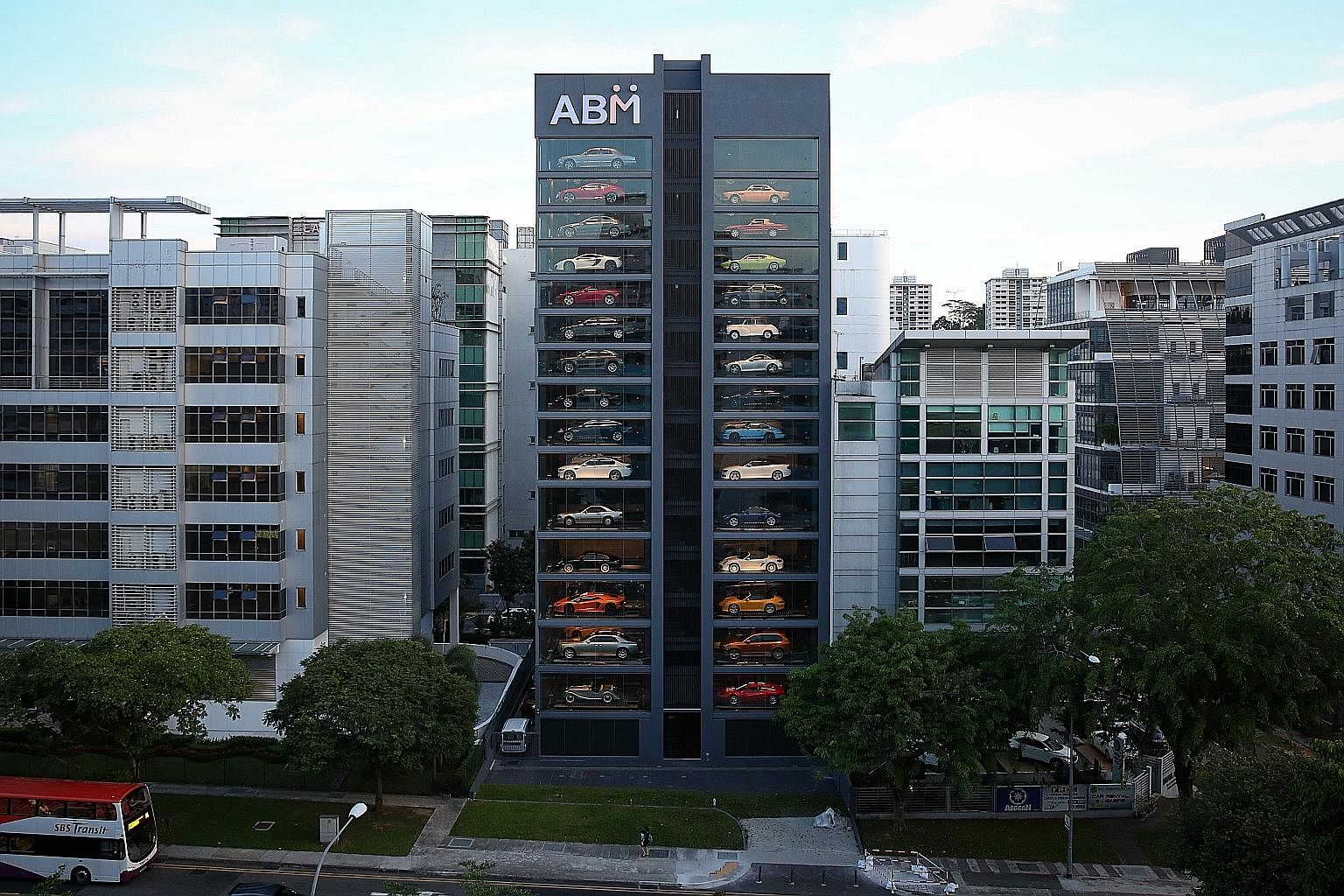 Car Vending Machine Stands Out In Bukit Merah Singapore News Top