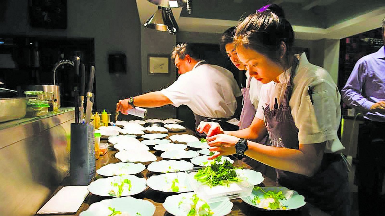 Women chefs are still a rarity but that could change soon
