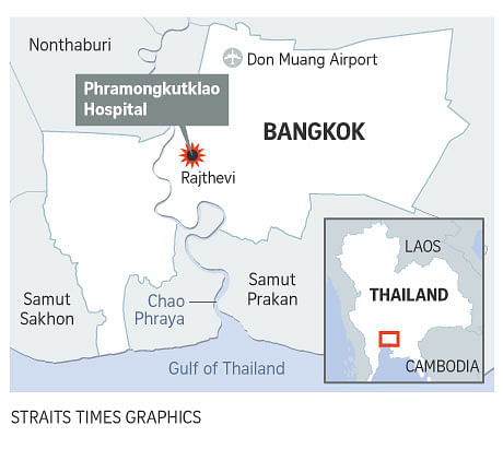 Bomb at Thai hospital wounds more than 20 people
